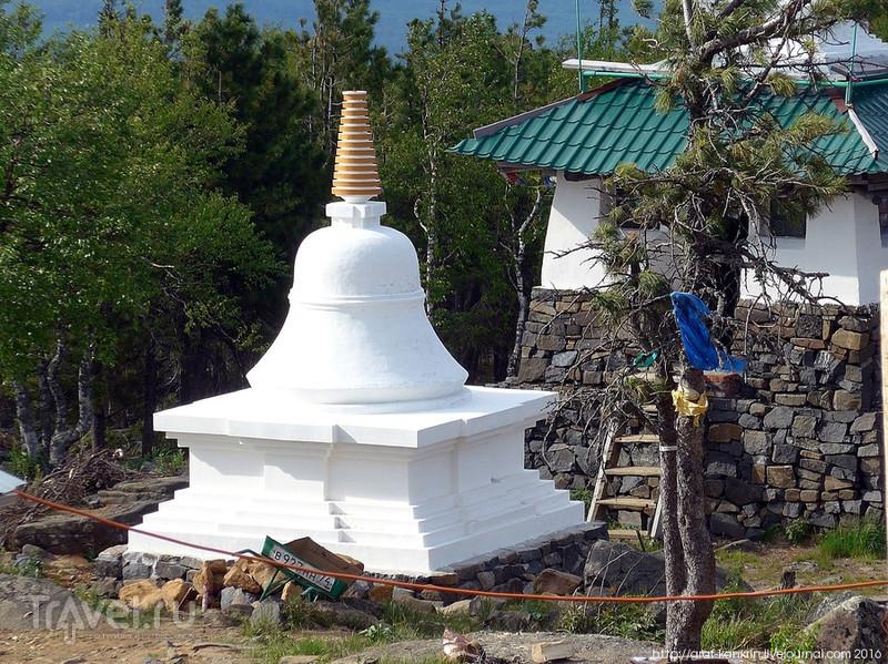Буддийский монастырь на Урале / Фото из России