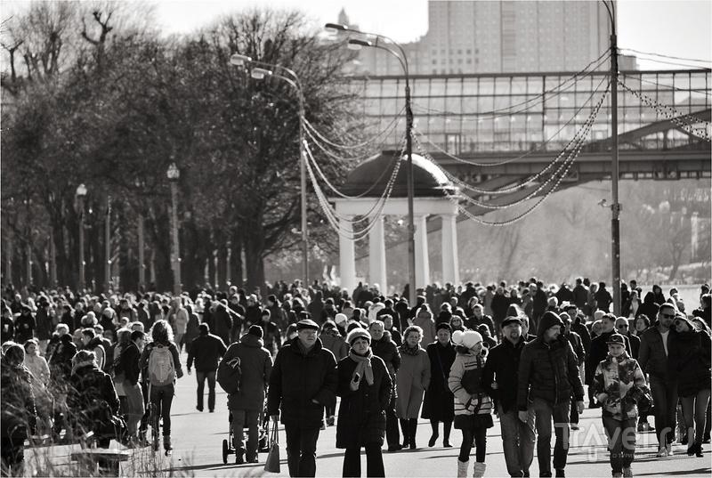Подготовка и первые цели велопутешествий по Москве / Фото из России
