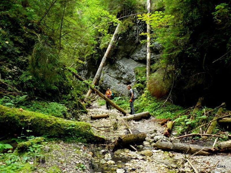 Словацкий Рай - просто рай! Piesky и Малы Кысель / Фото из Словакии