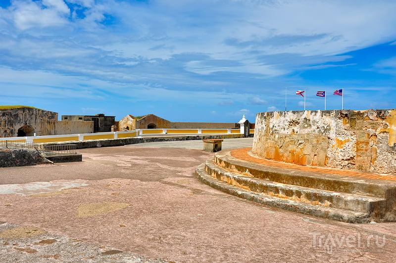 Castillo de San Felipe del Morro: 400-летний форт / Фото из Пуэрто-Рико