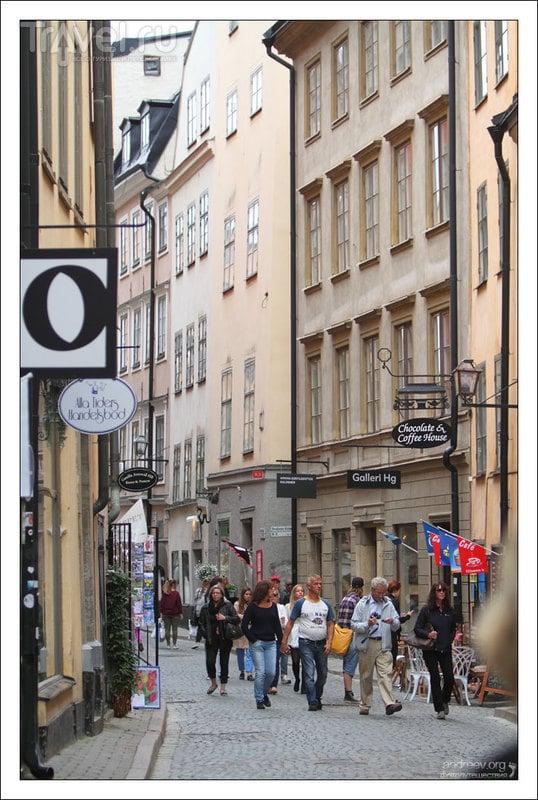 Из Санкт-Петербурга в Москву... по Балтике. Стокгольм: прогулка по центру / Швеция