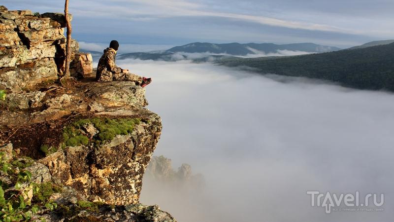 Башкортостан: Айгир, скалы хребта Караташ / Фото из России