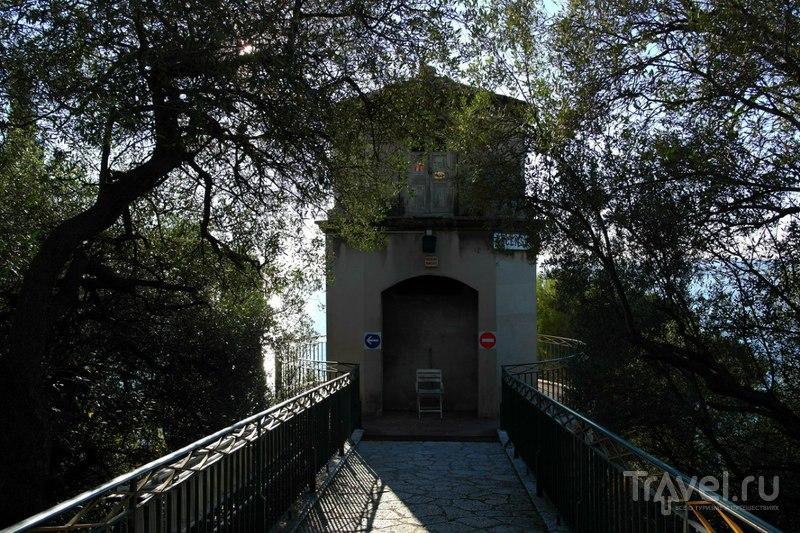 Ницца, подъем на Замковую гору / Фото из Франции