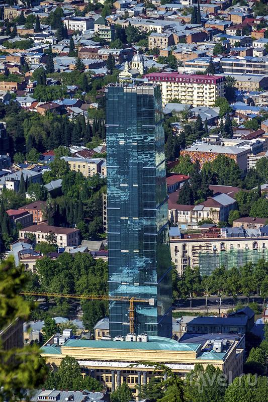 Парк Мтацминда: лучшие виды на Тбилиси / Фото из Грузии