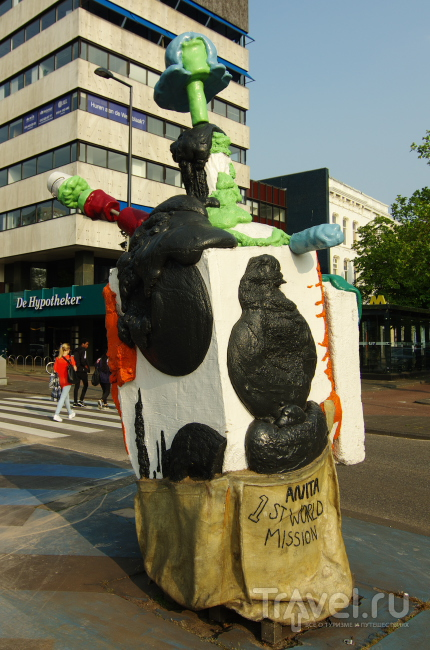 Скульптурный Роттердам / Фото из Нидерландов