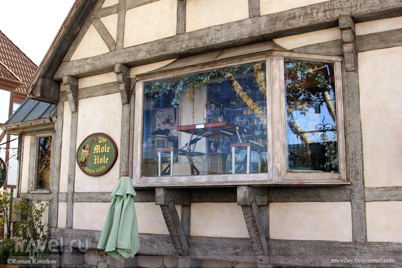 Что посмотреть в Калифорнии: Solvang - Дания в миниатюре / США