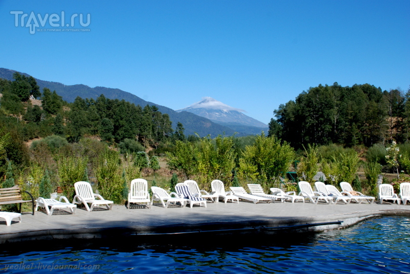Чили - сбыча мечт! Край вулканов и озер. На лошадках под вулканом Вийярика / Чили