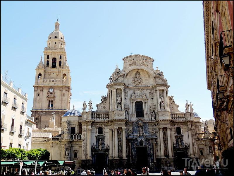 Мурсия - столица Мурсии. Испания. Palacio Episcopal, Catedral de Santa Maria / Фото из Испании