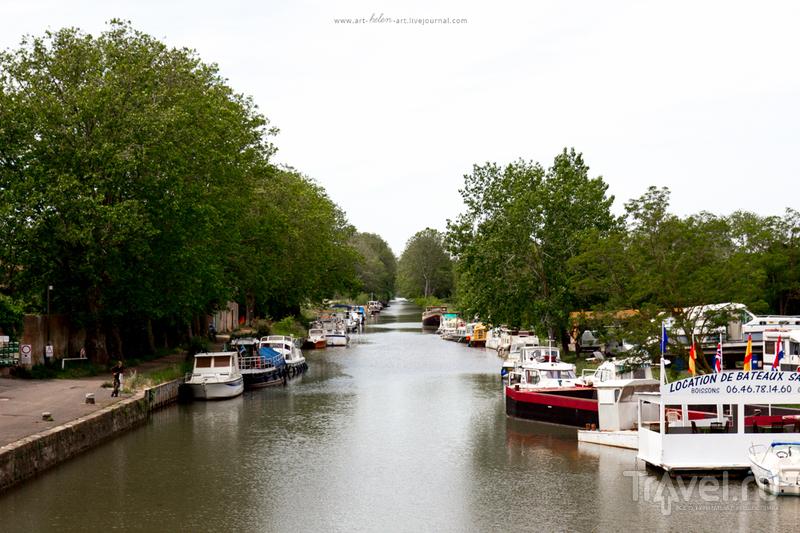 Франция. Канал-дю-Миди (Canal du Midi) / Фото из Франции