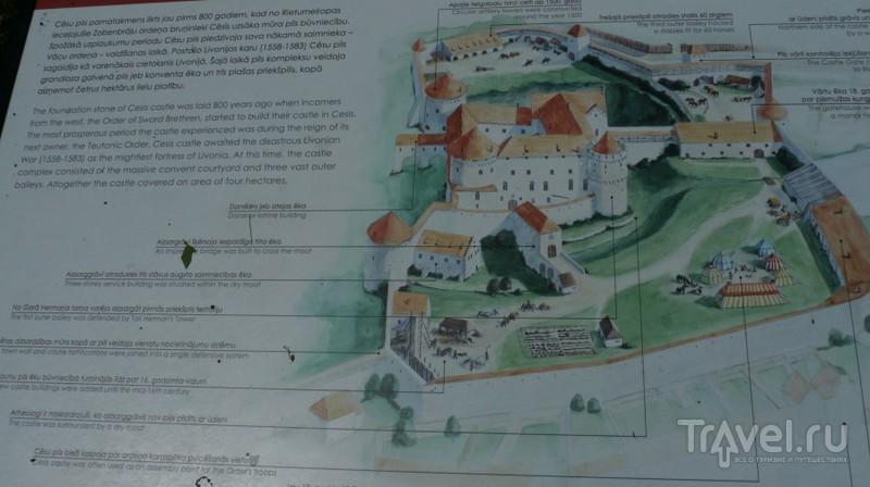 Средневековый замок Венден / Фото из Латвии