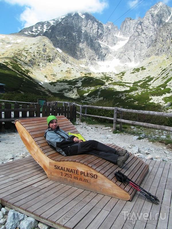 Словакия. Высокие Татры. От Скалистого озера до Зеленого и обратно по разноцветным маршрутам / Фото из Словакии