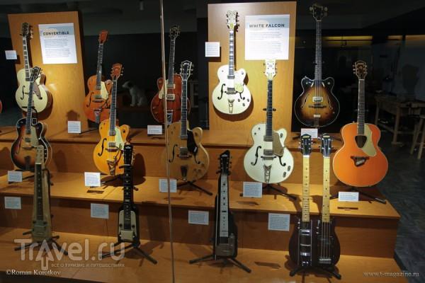 Что посмотреть в Нэшвилле: Музей и Зал славы музыки кантри / США