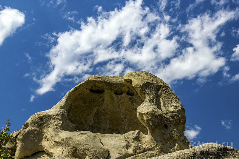 Пещерный город Уплисцихе / Фото из Грузии