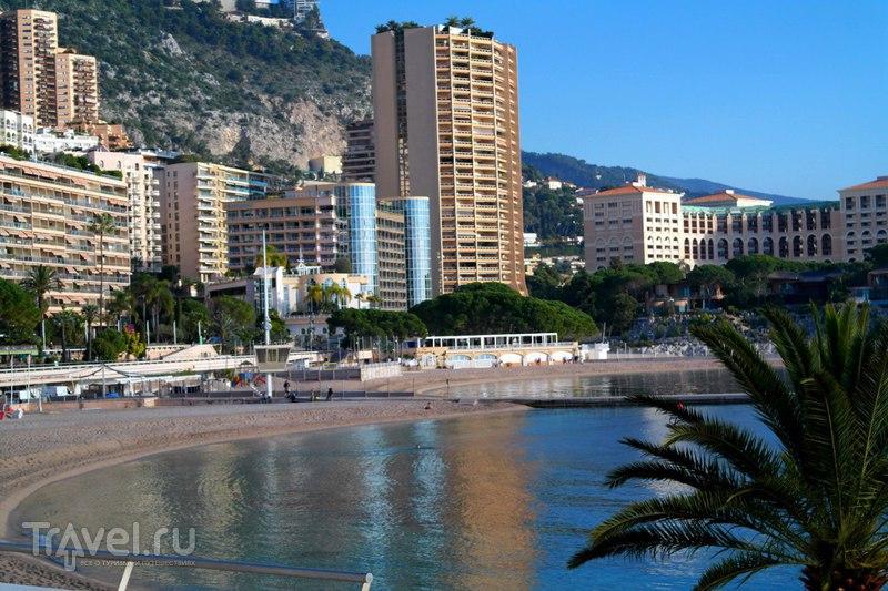Монако - Берег морской и первые впечатления о княжестве / Монако