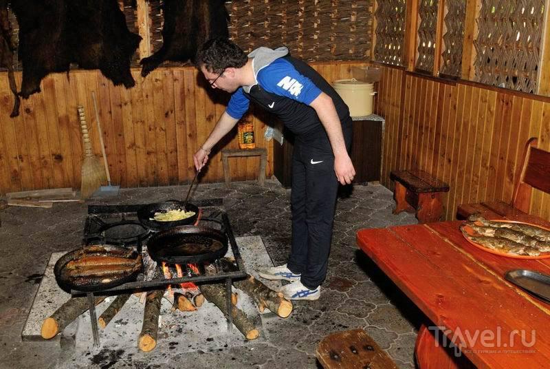Национальная кухня в Новом Афоне / Россия