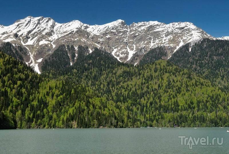 Озера Рица – жемчужина Абхазии / Россия