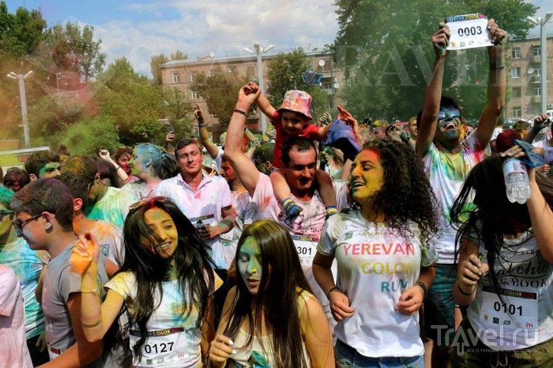Yerevan Color Run 2016 / Армения