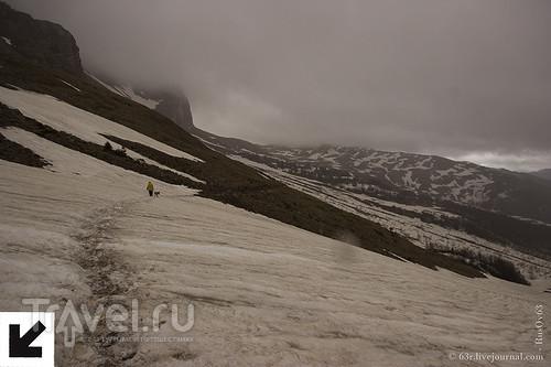 Адыгея. По дороге с облаками через Гузерипльский перевал / Россия