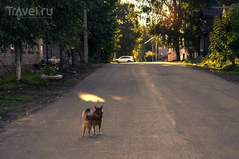 Тихвин, пешком по городу