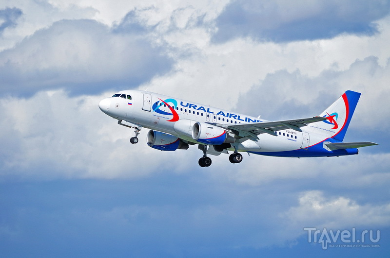 Ural Airlines Airbus A319 / Россия