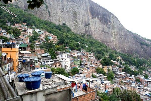 Бразилия. Трущобы Рио-де-Жанейро / Бразилия
