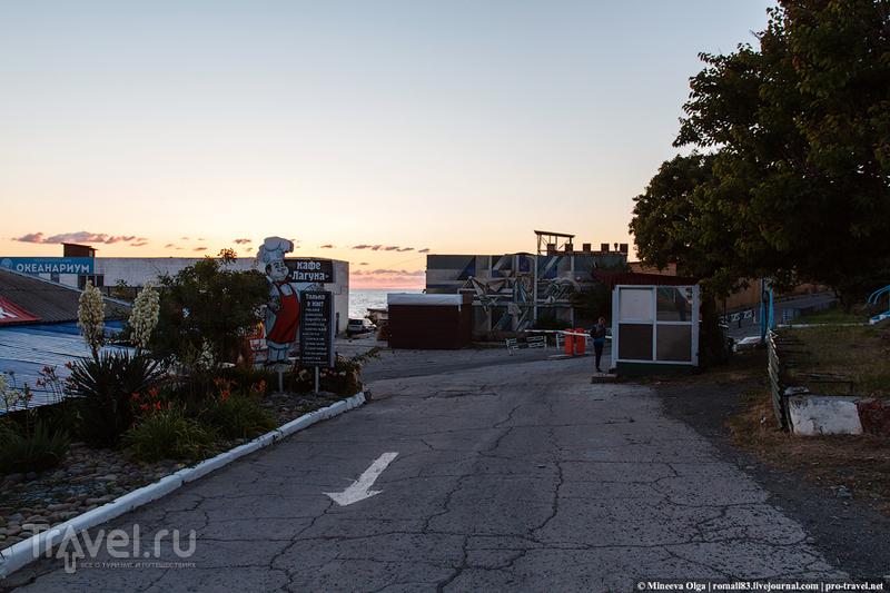 Анапа - Новороссийск. Марш-бросок по берегу / Фото из России