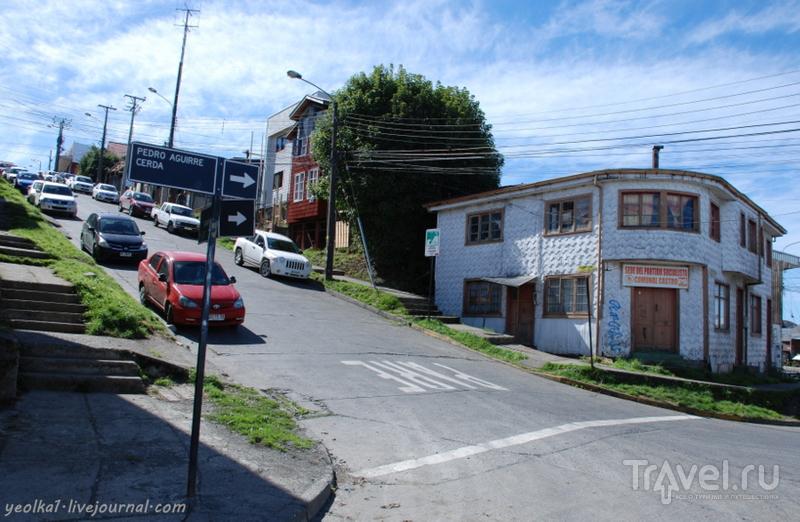 Чили - сбыча мечт! Край вулканов и озер. Остров Чилоэ. Поесть куранто в Кастро / Фото из Чили