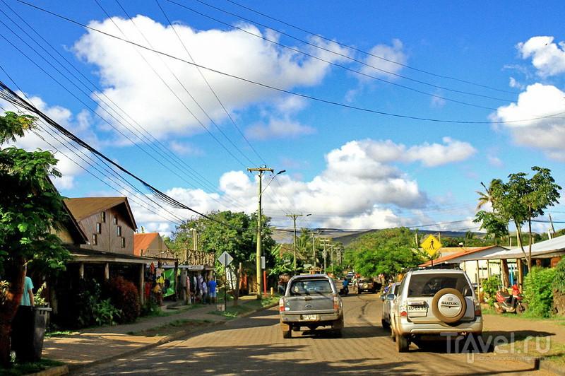 Ханга-Роа и борщ на острове Пасхи! / Фото из Чили