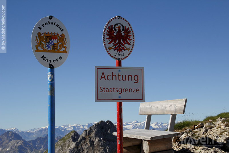 Via Ferrata - Mittenwaldner Höhenweg - самый красивый маршрут западного хребта гор Карвэндель / Фото из Австрии