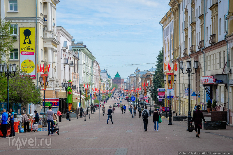 Прогулка по Нижнему Новгороду / Фото из России