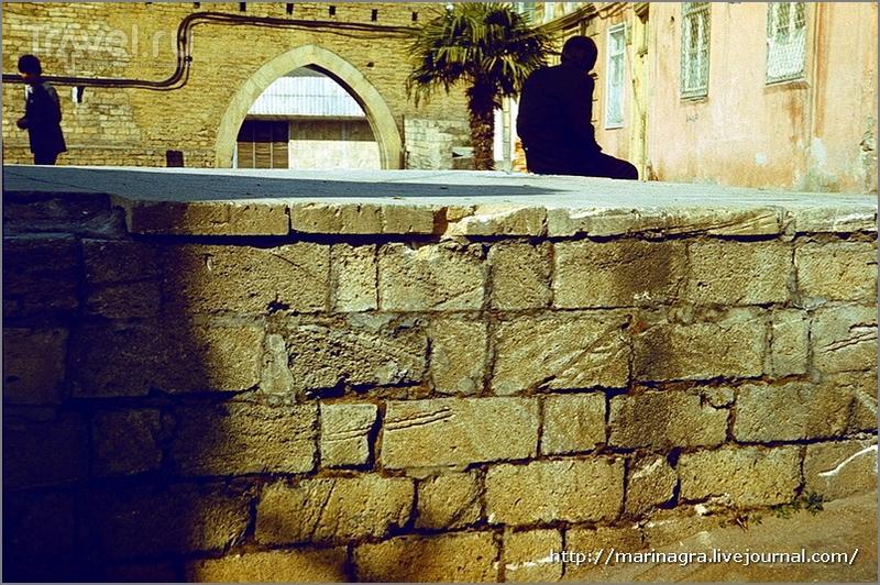 Старый  Баку - город минаретов и балконов / Азербайджан
