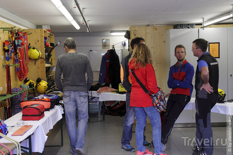 Bergwacht Mittenwald - горноспасательная вахта / Фото из Германии