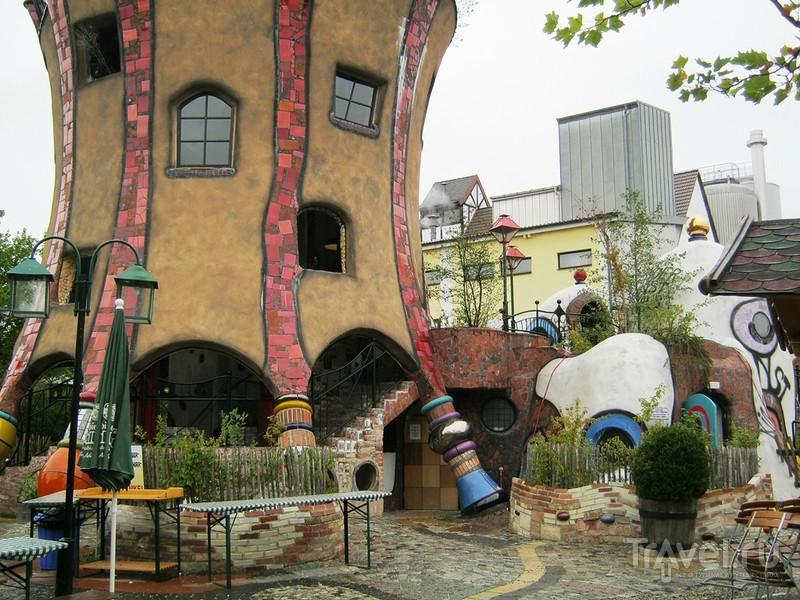 Архитектурное чудо в немецком Абенсберге / Германия