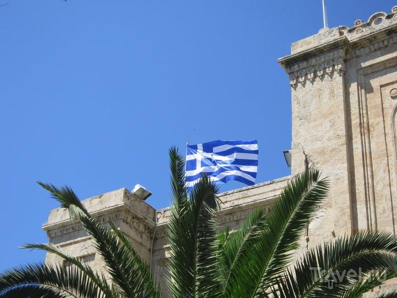Греческий флаг / Греция