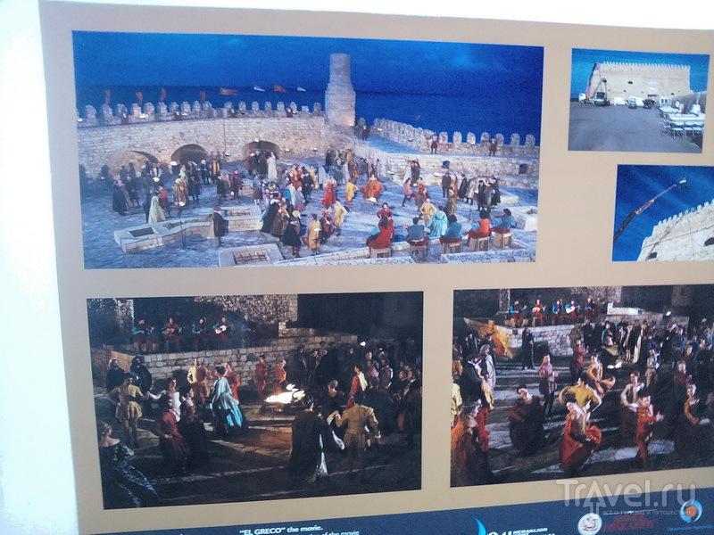 Кадры из фильма об Эль-Греко / Греция