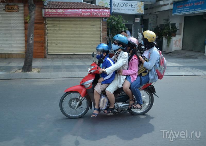 Улицы Хошимина. Семейная поездка