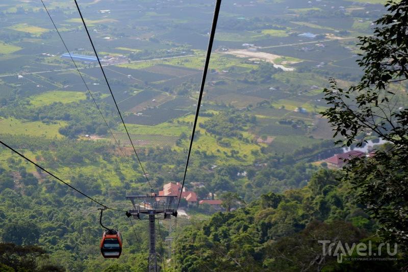 Канатная дорога на гору Та Ку