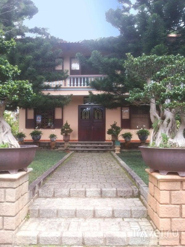 Дом монахов, монастырь Тхиенвиен