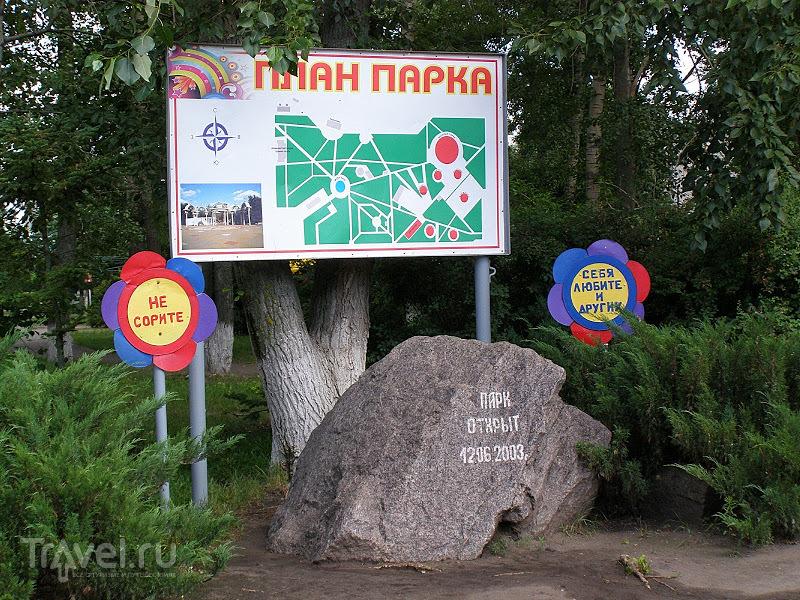 Воронежская область. Лиски. Парк юрского периода / Россия