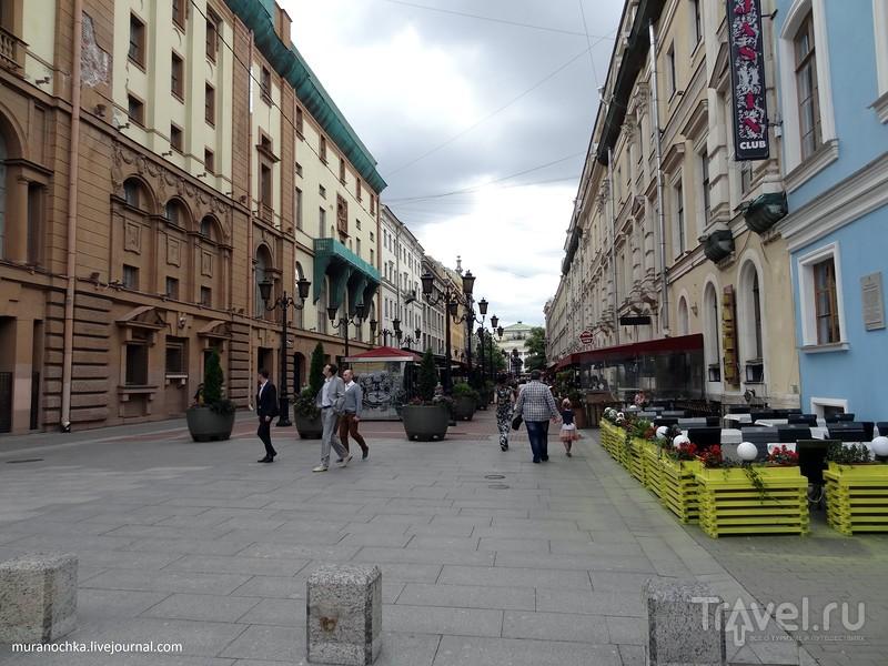 Короткая летняя прогулка по Невскому проспекту / Россия
