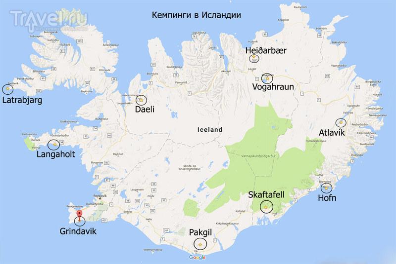 Кемпер-путешествие по Исландии, и кусочек Гренландии / Фото из Исландии