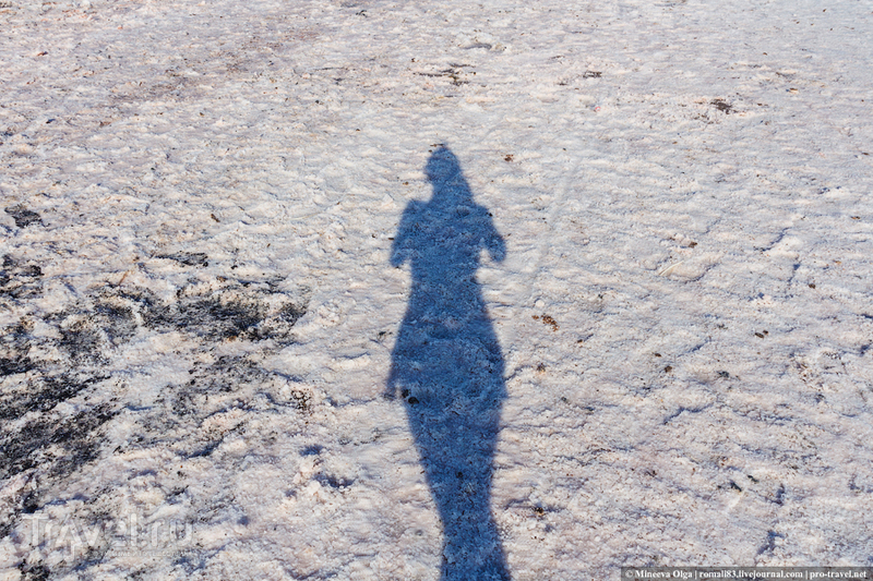 Соленое озеро или спа-процедуры по-тамански / Фото из России