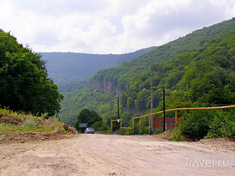 Кабардино-Балкария. Адай-Су, Малый Чегемский водопад / Россия