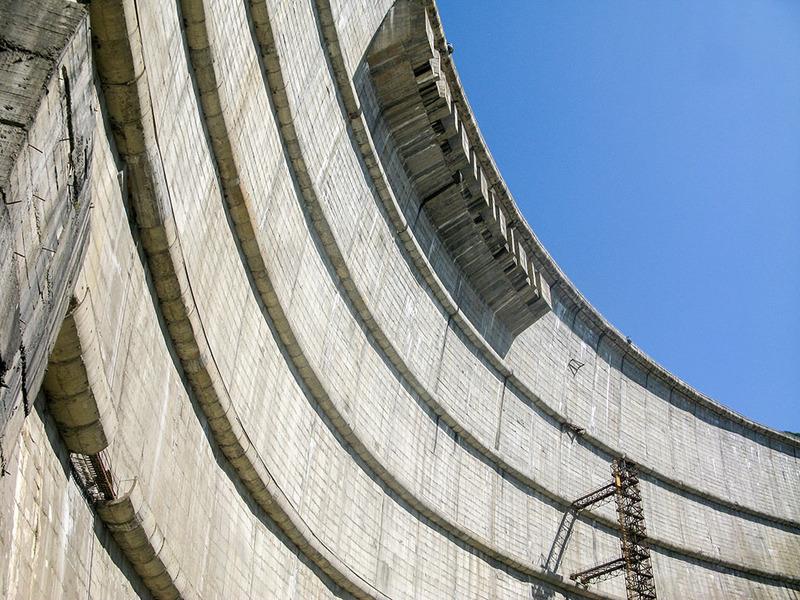 Грузия 2016. Ингури ГЭС / Грузия