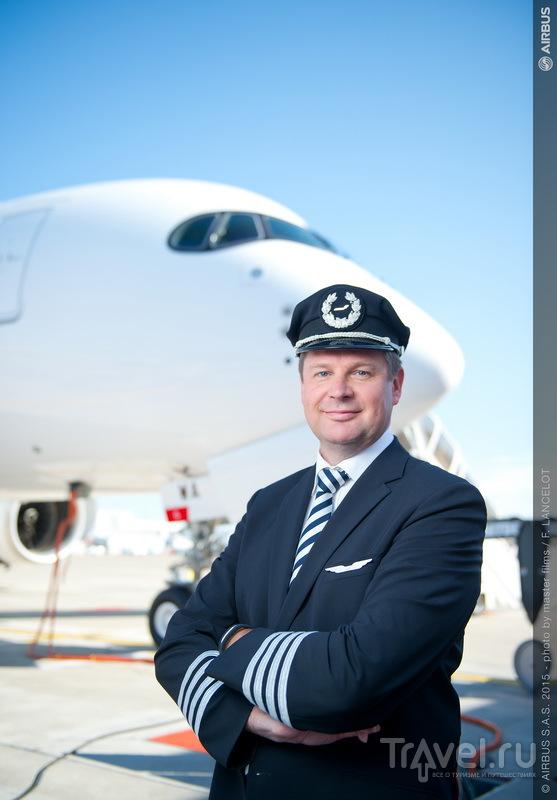Marko Valtonen, шеф-пилот Airbus 350 XWB
