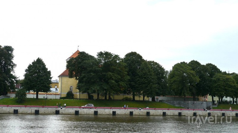 """Вентспилсский порт и прогулка на кораблике """"Герцог Екаб"""" / Латвия"""