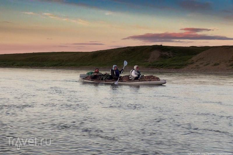 Особенности туристического сплава за полярным кругом / Россия