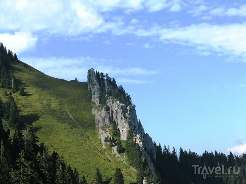 Гора драконов, коров и Понтия Пилата / Швейцария