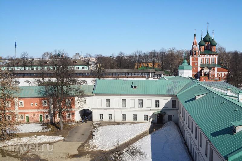 Ярославль с высоты птичьего полёта / Россия
