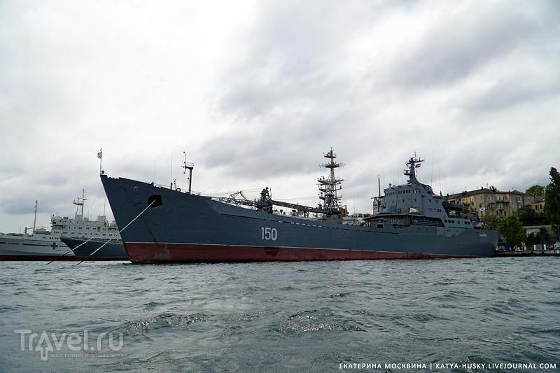 Морская прогулка по Южной бухте Севастополя / Фото из России
